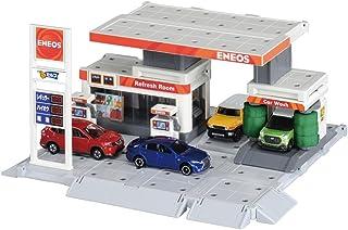 TAKARA TOMY 多美 建设城市 汽油站 拼插玩具 ENEOS