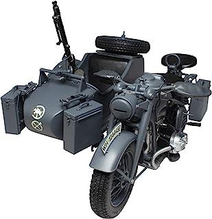 意大利 1/9 *二次世界大战 德国军 Zundapp KS750 摩托车 侧车 塑料模型 IT7406