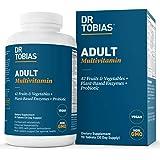 Dr. tobias 维生素 - 男女适用多种维生素 - 增强生物利用性 - 含矿物质和酶 - 富含维生素 B 和 c…