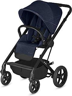 德国 CYBEX Balios S 婴儿推车 蓝色(轻便折叠双向可推,宝宝可坐可躺)