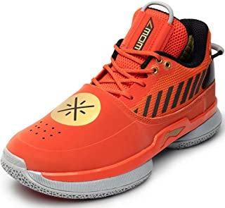 LI-NING Wow 7 系列 Wade 男式专业篮球鞋 男式经典耐磨缓震运动鞋 ABAN079