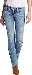 Silver Jeans Co. Suki 女士修身中腰修身靴牛仔裤