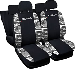 Lupex Shop N.Mch 座椅套,兼容 Kona,黑色/迷彩