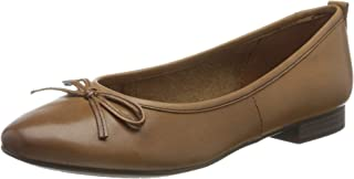 Tamaris 女士1-1-22114-24 皮革包闭芭蕾舞鞋