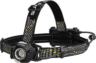 GENTOS LED头灯 三角形皮克 [亮度400-600流明/实用亮灯3.5-7小时/搭载非接触感应开关/防尘/防滴] 符合ANSI标准