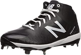 New Balance 男式 4040v5 金属中帮棒球鞋