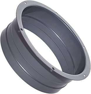 MYGHKO 管道连接器法兰金属直管法兰管道连接器板用于加热冷却通风系统 6 英寸