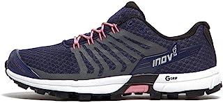 Inov-8 女式 Roclite 290 V2   越野跑步 OCR 鞋   轻质   卓越的耐用性和无与伦比的石墨烯抓地力   *蓝/粉色 M8/W9.5