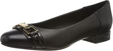 Geox 健乐士 女士 D Wistrey A 封闭芭蕾舞鞋