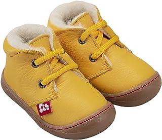 Pololo 中性儿童 Juan 羊毛衬里 黄色 短靴