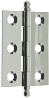 idh by St. Simons 82015-026 Professional Grade Quality Genuine Solid Brass Cabinet Hinges, Polished Chrome, 2 x 1-1/2-Inch...