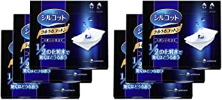 【日本亚马逊限定】Silcot 舒蔻 丝滑化妆棉 海绵型 40枚×6盒 附产品介绍册