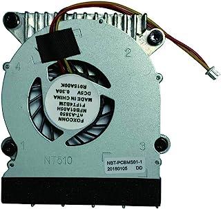 全新 3 PIN CPU 散热风扇带散热器,适用于 Foxconn NT330 NT330i NT510 NT-510 NT425 NT435 NT535 NT-A3700 系列笔记本电脑 NFB61A05H