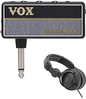 VOX amPlug G2 经典摇滚耳机吉他扩音器,带 HPC-A30-MK2 工作室监听耳机套装