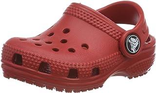 crocs 中性儿童经典儿童木屐 蓝色 25-26 Kinder Classic Clog Kids