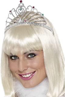银迷设计服装皇冠。 (美国)