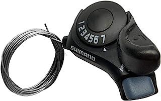 ZUKKA Shimano Tourney 右拇指齿轮移位器 SL-TX30-6R/7R,6 速/7 速自行车换档杆,适用于山城公路折叠自行车