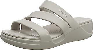 Crocs 卡骆驰 女士Monterey坡跟露趾凉鞋
