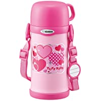 ZOJIRUSHI 象印 水瓶 附水杯 不锈钢保温杯 600毫升 SC-MC60-PA 粉色