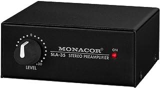Monacor 立体声级别和阻抗匹配放大器