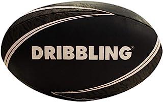 DRB DRIBBLING 带旗帜训练橄榄球 | 官方尺寸 5 | 机器缝制 - 标准胶粘手柄带三个国家旗帜 - 适合青少年和成人的投掷和踢腿练习 - 室内/室外