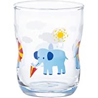 ADERIA 玻璃杯 透明 130毫升 美味玻璃杯 捉迷藏 1个盒装 日本制造 6077 玻璃杯S
