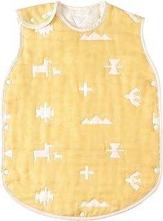 BOBO 棉×羊毛 6层纱布睡袋 [対象] 0ヶ月 ~ 36ヶ月 黄色 ベビーサイズ