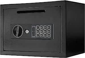Winbest 钢制数字键盘存放邮件存钱储蓄现金盒*盒