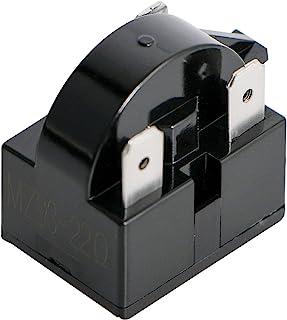 Aopin 3 针 22 欧姆冰箱 PTC 起动/起动继电器压缩机起动继电器替换零件适用于汽车冰箱、便携式冰箱、饮料、葡萄酒和啤酒冷却器、空调压缩机 1 件