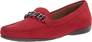 Driver Club USA 女士皮革链细节驾驶乐福鞋