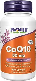 NOW Foods 辅酶 Q10 50 毫克 200 粒软胶囊