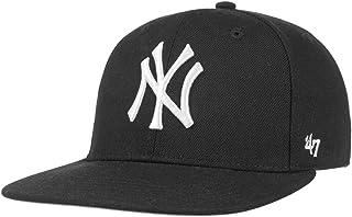 '47 纽约洋基队 MLB 品牌黑色防弹队长青少年平帽檐后扣帽