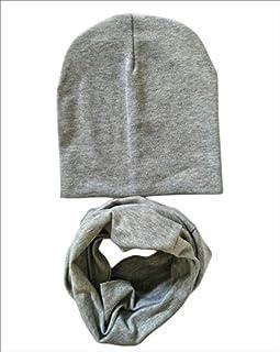 micia luxury 2件套 儿童 棉质围脖 soild gray