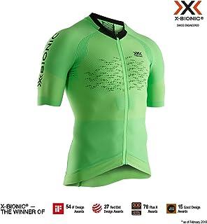 X-Bionic 男式 The Trick 4.0 自行车拉链短袖衬衫