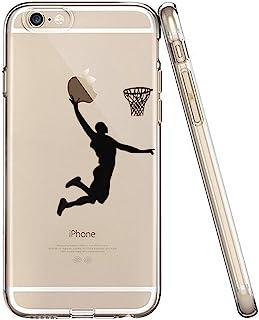 iPhone 6S 手机壳,iPhone 6 手机壳,iPhone 6s 手机壳,LEECOCO 创意印花透明 TPU 软后盖手机壳适用于 Apple iPhone 6/6S + 1 张屏幕保护膜4326777239 A Boys Basket...