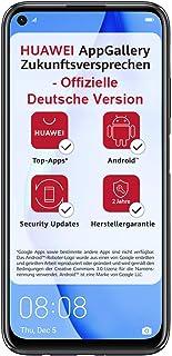 Huawei 华为 P40 lite 双卡智能手机(16cm/6.4英寸,128GB内部存储,Android 10.0 AOSP 无Google Play商店,EMUI 10.0.1),午夜黑