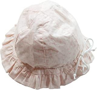 《初夏盛夏对应》(日本制造)Pample Mousse(Pample Mousse) 棉60龙猫文胸圆点帽子 NO.DP-82605 粉色 M(46cm~50cm)
