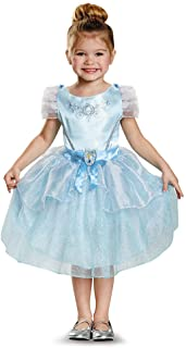 Little Girls' Cinderella Disney Movie Costume Dress