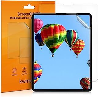 """kwmobile 2X 屏幕保护膜兼容苹果 iPad Pro 12.9""""(2020) - 防刮、防指纹哑光平板电脑屏幕保护膜52004.2_m000063  2X"""