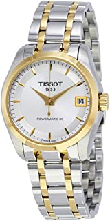 Tissot Couturier Powermatic 80 女式手表 T035.207.22.031.00