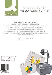 Q-Connect KF00533 彩色复印膜,适用于激光打印机 A4 50 件