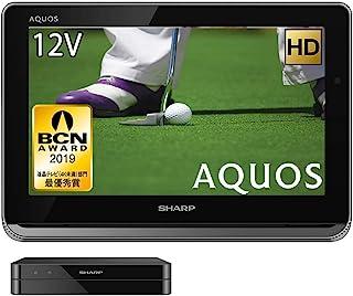 夏普 12V型 液晶 电视 AQUOS 2T-C12AP-B 高清 防水&无线设计 黑色 2018款