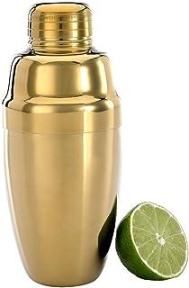 Barfly M37038BK 3 件重量级鸡尾*调味瓶套装 17 盎司 (500 ml) 金色 18oz (532 ml) M37038GD