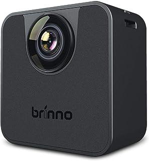 BRINNO TLC120 HDR 延时 WI-FI 相机,带 Brinno 相机应用程序控制,适用于 iOS 系统,适合家庭、保安、自隔离、家庭学校、IPX4 防溅和防风雨