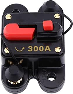 电路断路器可重置电动分离器,适用于汽车船只自行车立体声 80-300A(300A)