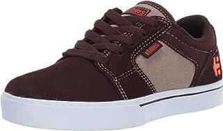 Etnies 中性儿童 Barge Ls 滑板鞋