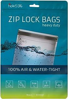 noaks 袋 | 保护套 , Zip - 袋 , Dry - BAG | 尺寸 L – 5件 | 防水 , geruchsdicht & | 适用于假期 , 运动 & 旅行 | 原装