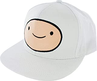 Adventure Time Finn Face Snapback 可调节棒球帽