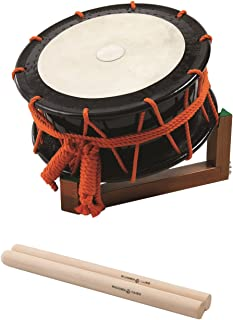 劲鼓(能乐・长歌・民谣) 鼓面35cm・腰高15cm(5寸) 特别教材套装