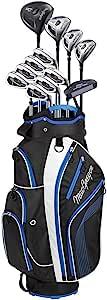 MacGregor Golf 2018 男士 DCT2000 完整包装套装 - 黑色/蓝色